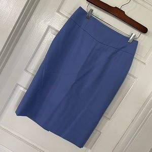 J. Crew Telegraph Pencil Skirt - Periwinkle